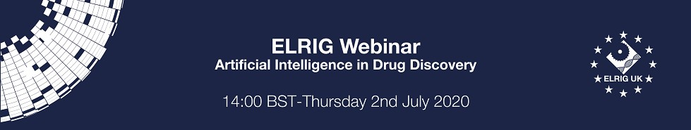 Webinar - Artificial Intelligence in Drug Discovery in association with The British Pharmacological Society